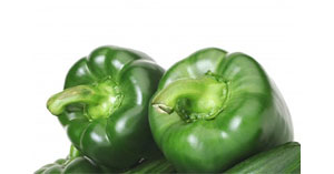 Green Peppers Field Crop Image
