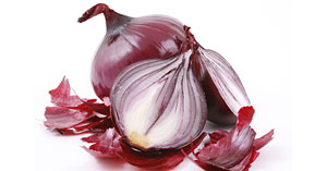 Red Onions Storage Crop Image